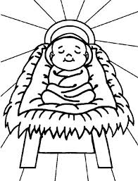 Small Picture nativity scene coloring pages printable archives in baby jesus in