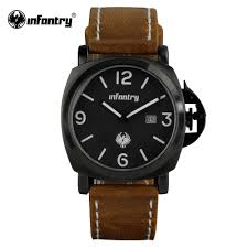 popular top sport watches buy cheap top sport watches lots from infantry watch top brand mens watches relojes casual sports pu leather watch quartz vintage date day