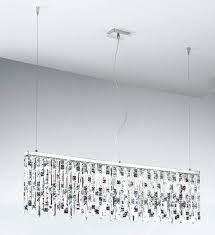 linear crystal chandelier crystal chandeliers for dining room