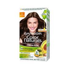 Buy Garnier Color Naturals Crème Hair Color Shade 4 Brown 70ml