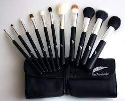 get ations makeup brush set plete all 11 essential brushes with pouch professional designer cosmetic