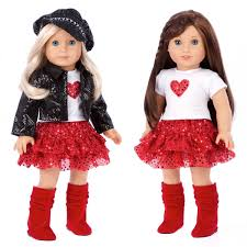 chic and sassy 5 piece outfit 18 doll clothes motorcycle faux leather jacket