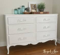 white furniture paintHazel Mae Home  Vintage finds  redesigned