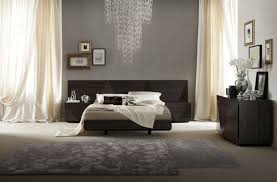 Master Bedrooms Furniture Lacquered Made In Italy Wood Luxury Platform Bed With Two Tone