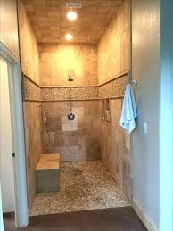 showers without glass tile showers without doors walk in shower without door tiled walk in shower