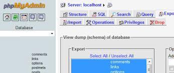 back up your mysql database regularly