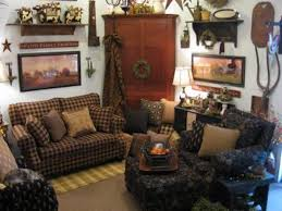 primitive living room wall ideas