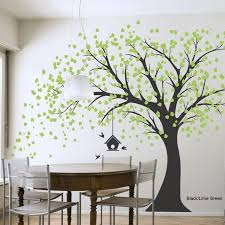 Best 25+ Tree Wall Painting Ideas On Pinterest   Family Tree Mural Within  Painted Trees