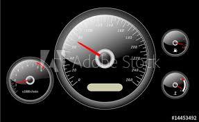 car <b>dashboard</b> instruments vector illustrated - Buy this stock vector ...