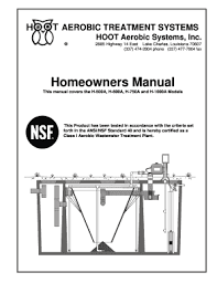 hoot aerobic treatment systems la Aerobic System Wiring Diagram For Hot Water Heating