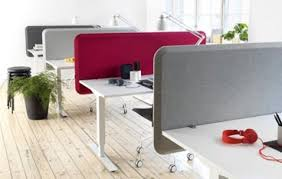 office desk dividers. Acoustic Desk Partitions With Round Edges Office Dividers E