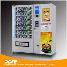 Hot Vending Machine New China Instant Noodles Vending Machine With Hot Water Dispenser