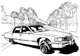 Small Picture Lowrider Coloring Page 29338 Bestofcoloringcom