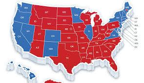 2016 electoral map results comparing exit polls with elections Final Election Results Map electoral map 2016 recount 2016 final election results map 2016