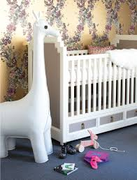 dwell baby furniture. Art Deco Nursery With White And Grey Crib Dwell Baby Furniture