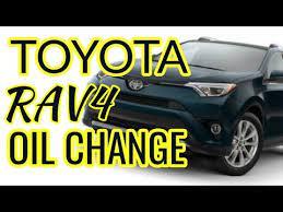 toyota rav4 oil change 2009 2017