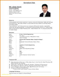 Simple Resume Sample Pdf Free Download Cv Format For Jobs Pertamini