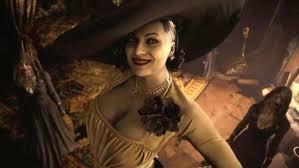 Resident evil village lady dimitrescu voice actor-lady dimitrescu height comparison