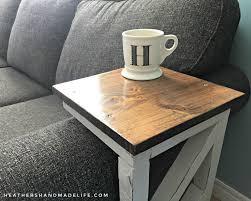 diy sofa table. Fine Table Easy DIY Sofa Tables Heatheru0027s Handmade  In Diy Sofa Table