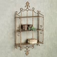 wood and wrought iron wall shelves decoration metal frame shelving small wooden shelf metal wood wall