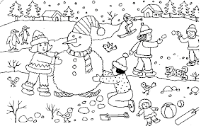 Small Picture Coloring Page Christmas snowman coloring pages 25