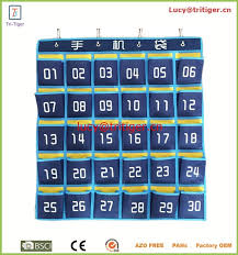 Cell Phone Pocket Chart 30 Pockets Numbered Classroom Pocket Chart Organizer For Cell Phones Buy Numbers Wall Charts For Kids Chart For Cell Phones Classroom Pocket Chart