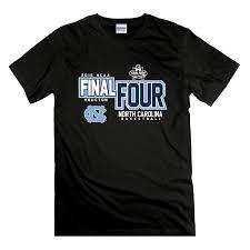 Final Four T Shirt Design Us 9 23 23 Off Fashion Design Free Shipping Mens North Carolina Tar Heels Basketballer Final Four T Shirt In T Shirts From Mens Clothing On