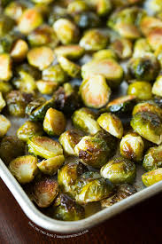 roasted garlic brussels sprouts how