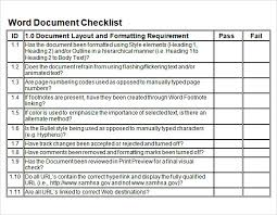 Sample Blank Checklist Template 27 Documents Download In Pdf Psd