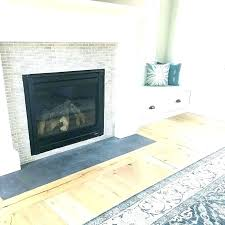 tile over brick fireplace innovative ideas tile