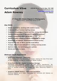 Photography Resume Samples Awesome Photography Cv Template Resume Samples For Photographers Fresh