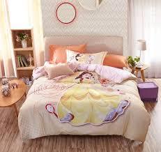 disney princess belle bedding set for kids girls teens 9 600x566 disney princess belle bedding