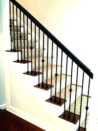 outdoor metal stair railing. Outdoor Metal Stair Railings Home Depot Wood And Railing Handrail Staircase Spindles For Stairs Best Cap S