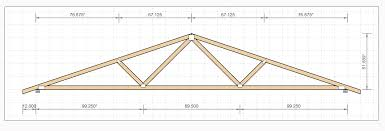 Ceiling Truss Span Chart Truss Drawing At Getdrawings Com Free For Personal Use