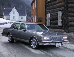 1988 Chevrolet Caprice - Information and photos - MOMENTcar