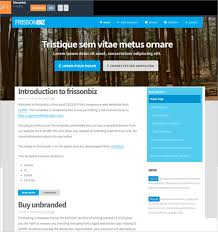 Basic Website Templates Enchanting Basic Html Web Page Template Free Codebluesolutions