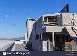 Cité Radieuse Unite D Habitation Roof Terrace Le Corbusier 1952