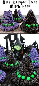 images about halloween these rice krispie treats witch hats will be everyone s favorite treat at your halloween party they are super easy to make and are a spooky and fun