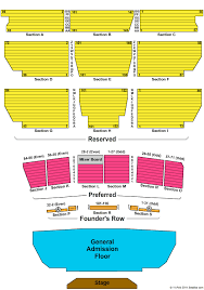 Oxnard Performing Arts Center Seating Chart 51 Unfolded Santa Barbara Bowl Seating Chart With Seat Numbers