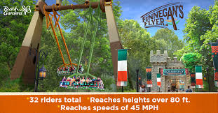 finnegan s flyer cutback water coaster opening at busch gardens williamsburg water country usa in 2019