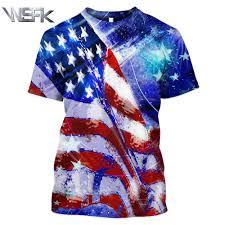 <b>WSFK new</b> july American flag prints stranger things t shirt men's and ...