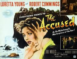 sicko psychotic the accused  theatre and vampira often acquired mystery and suspense films as fillers the accused was one such feature and appeared on murder before midnight in