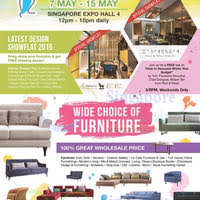Small Picture 100 Home Design Furniture Fair at Expo from 7 15 May 2016