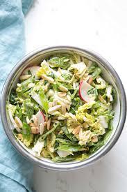 Timing Light Napa Napa Cabbage Picnic Salad