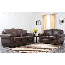 italian leather sofa set.  Set Abbyson Living Macina Italian Leather Sofa Sets In Dark Truffle To Set W