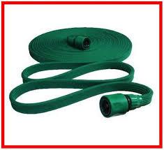 flat cloth garden hose garden hose
