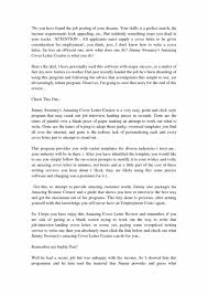 How To Write An Amazing Cover Letter Youtube With Regard To Jimmy Sweeney  Cover Letters Review