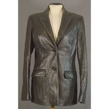 oxfam southampton this is a beautifully styled leather jacket size 10 black in colour the brand is j taylor in good condition