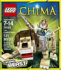 Đồ chơi Lego Chima 70123 - Sư Tử Huyền Thoại