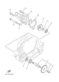 2013 yamaha yz85 yz85d water pump parts best oem water pump parts diagram for 2013 yz85 yz85d motorcycles